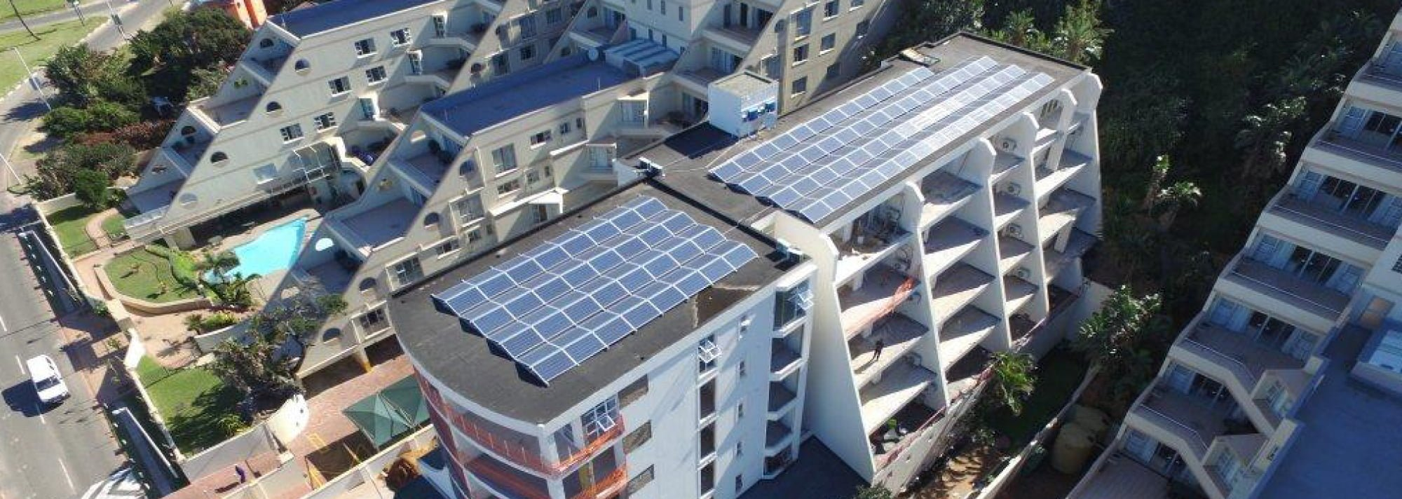 PROINSO's Solar PV installations on business buildings