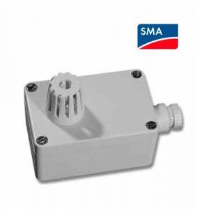 White SMA Sunny Ambient Temperature Sensor Box
