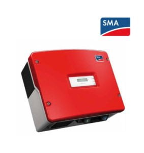 Red SMA Sunny Boy SB 3800-IT Inverter with RS485 Communication Interface