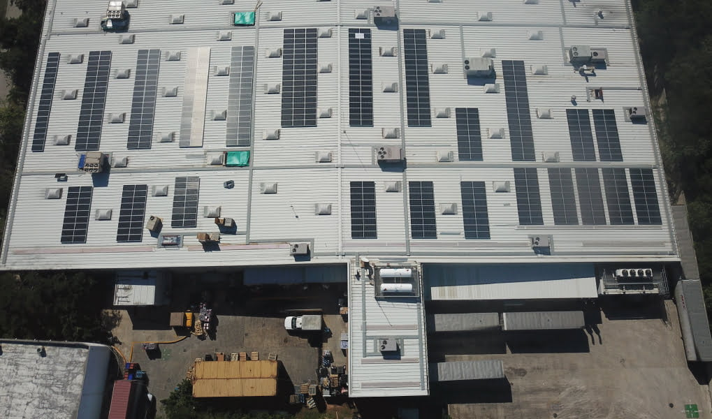 Walmart solar rooftop solution by PROINSO