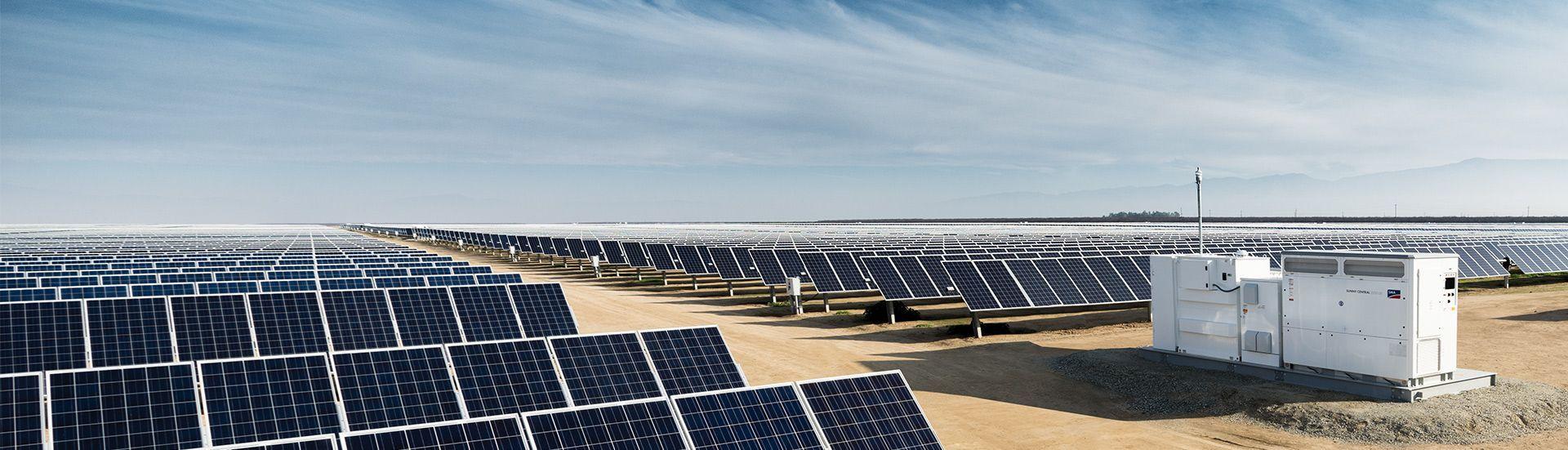 PV power plants - solar park