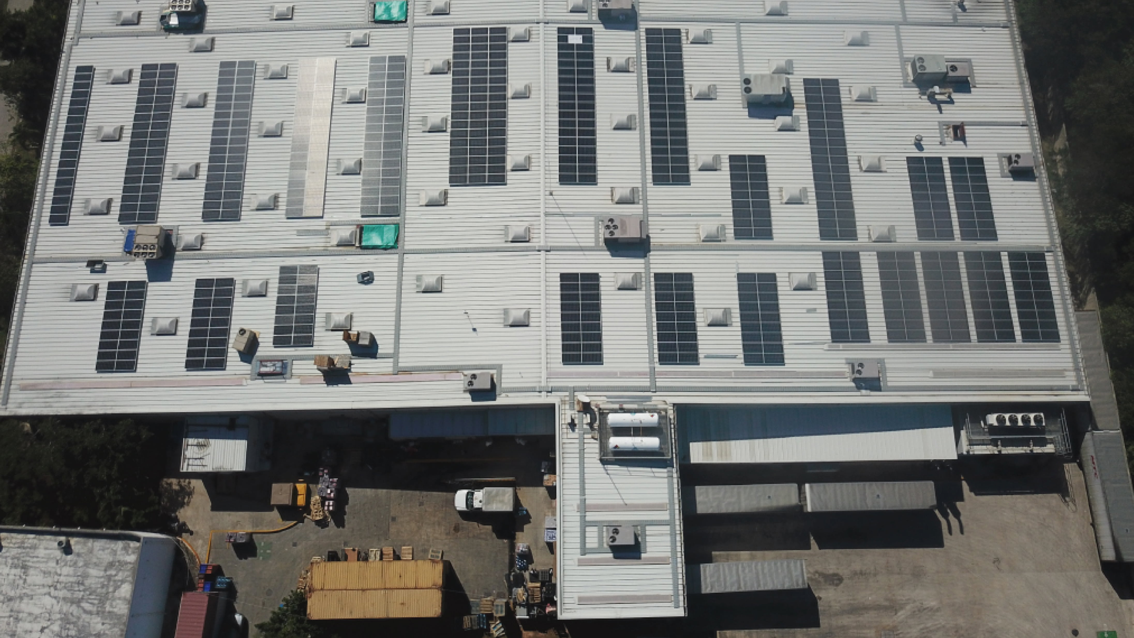 Walmart solar panels in Mexico