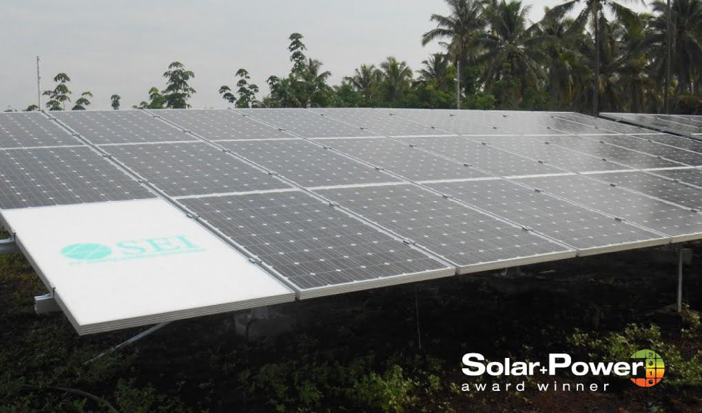 Award-winning PROINSO's solar project in Indonesia