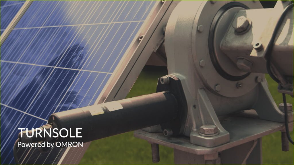 TURNSOLE powered by OMRON solar panels