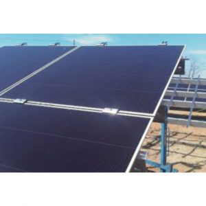 2 modules landscape Praxia Solar PV structure
