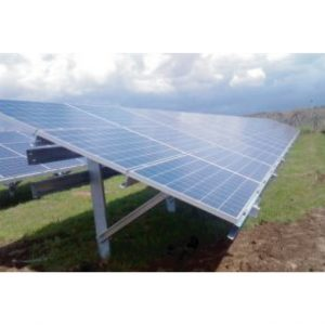 Praxia PV racking 3 modules landscape