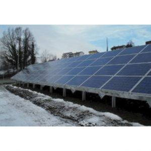 Praxia Solar PV structure-4 modules landscape
