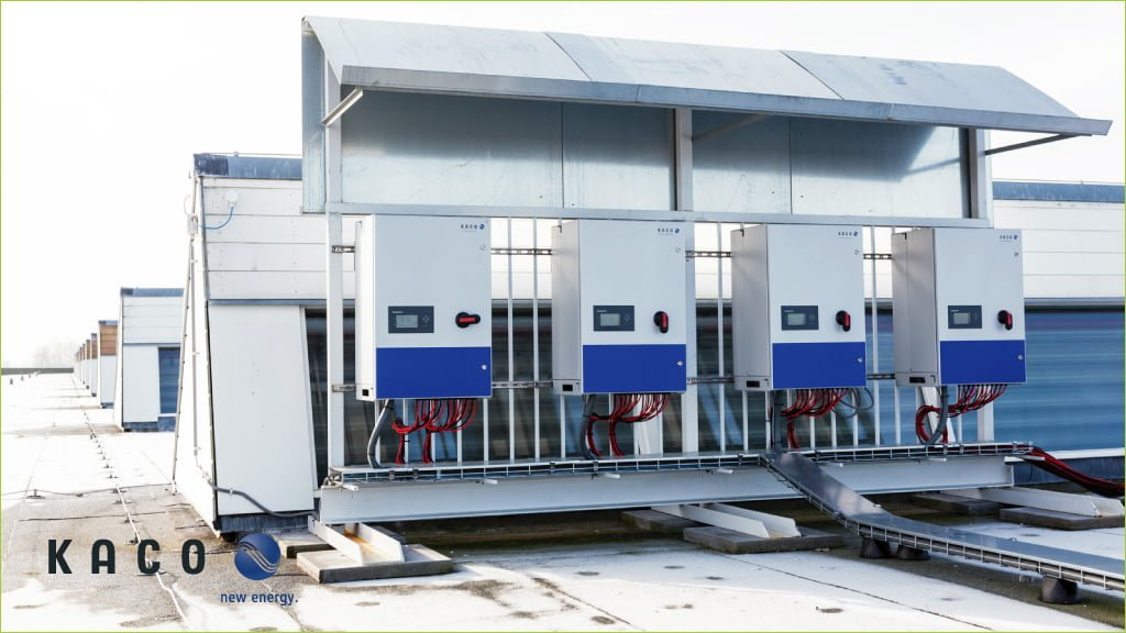 Four Kaco Solar Inverters