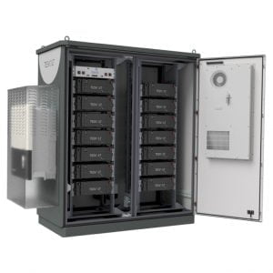 Tesvolt batteries - TS HV 70 outdoor storage system