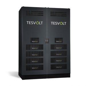 Tesvolt lithium-ion batteries - TS HV 70 storage system