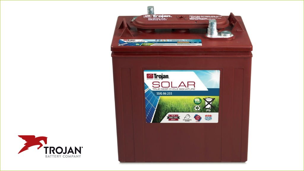 Trojan Deep-Cycle batteries for solar