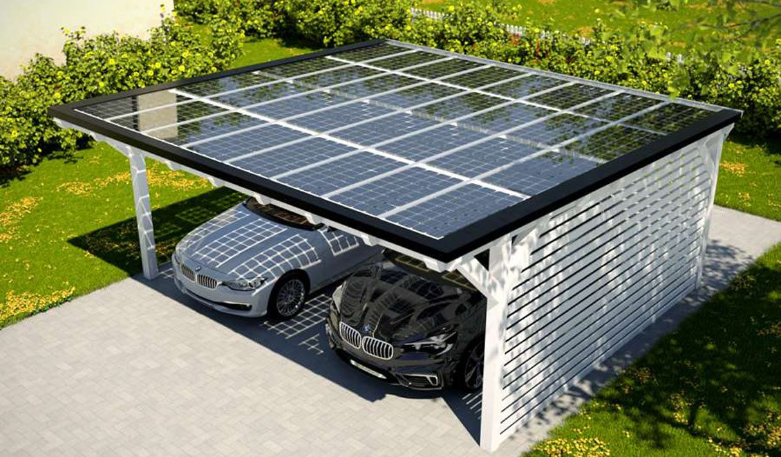 Circutor PV Carports and solar pannels by PROINSO