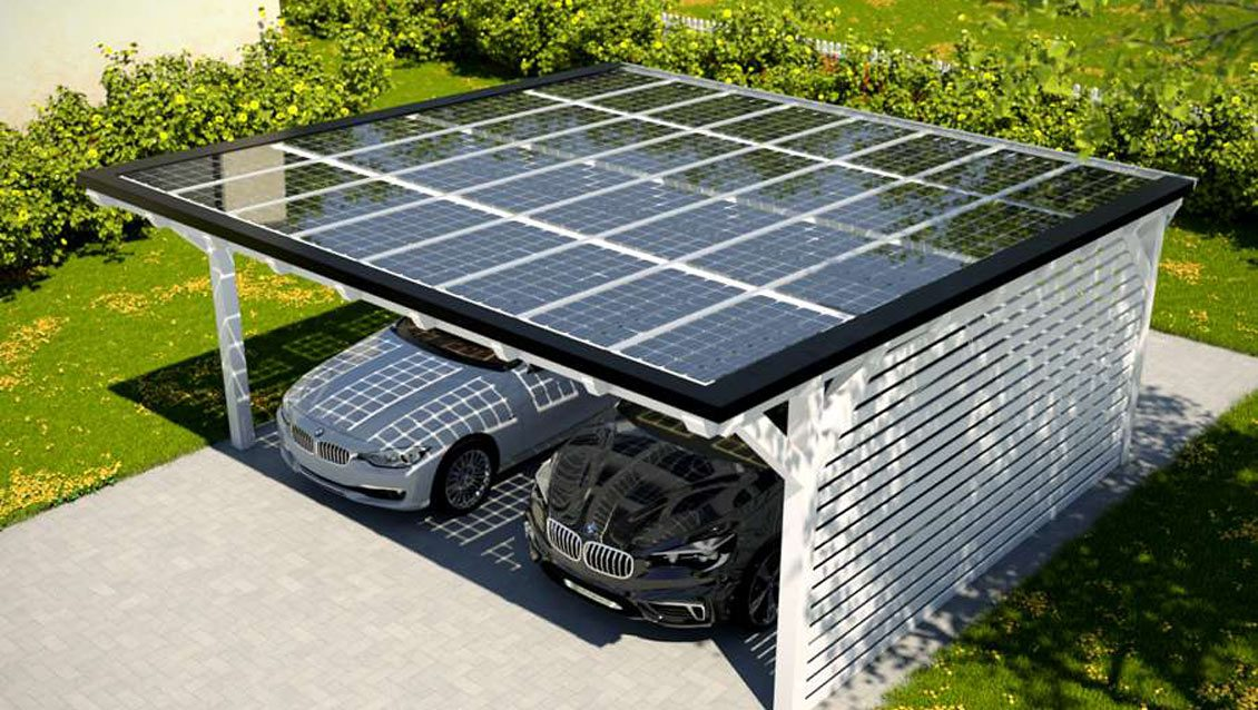 PROINSO's solar panels and two Circutor PV carports